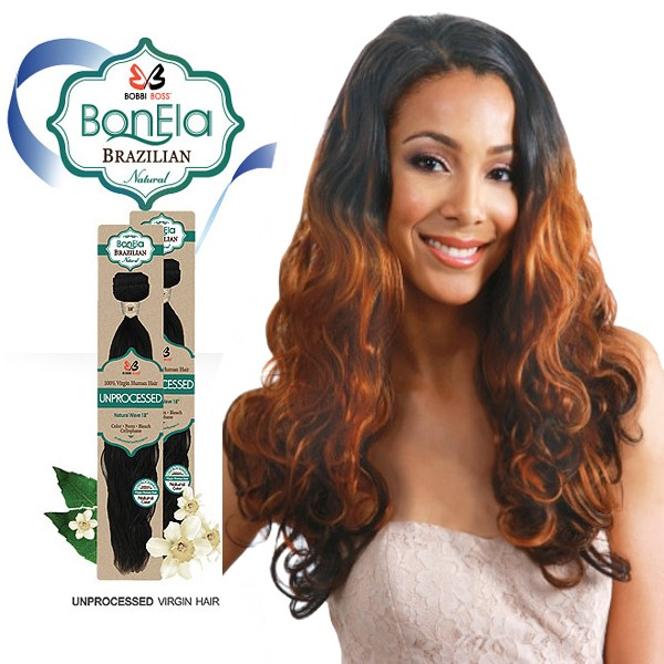 <Deal of the month>Bobbi Boss BonEla Brazilian Natural Virgin Hair Weave_Body Wave