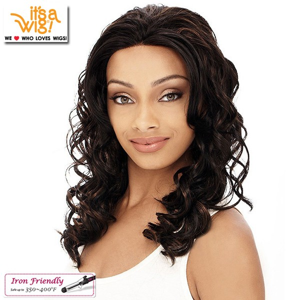 It's A Wig Synthetic Lace Front Wig_Simple_Lace_Macy