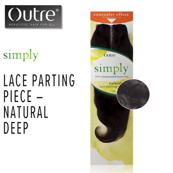 """Outre Simply Brazilian Lace Parting Piece_Natural Deep10"""""""