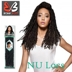 Bobbi Boss Synthetic Crochet Braid_Nu Locs 18""