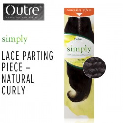 Outre Simply Brazilian Lace Parting Piece_Natural Curly 10""