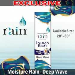 "Shake N Go Moisture Rain Indian Remy Human Hair_Deep Wave(20""~30"")"