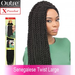 Outre X-Pression Crochet Braid_Senegalese Twist Large 24""