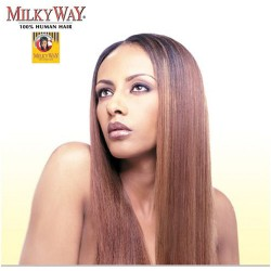"Milkyway 100% Human Hair Yaky Bulk 14""~18"""