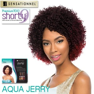 Sensationnel Premium Too Shorty 9 Weaving Hair_Aqua Jerry 9
