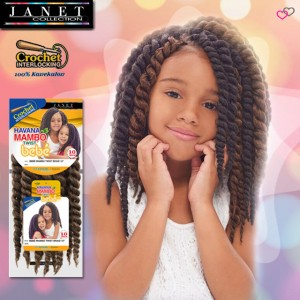 Janet Collection Synthetic Braid_Havana Mambo Twist Bebe 10""