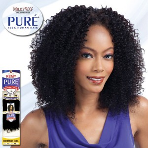 Milky Way Pure 100% Human Hair Weave_Bohemian Curl
