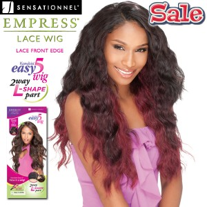 Sensationnel Empress Synthetic Lace Front Edge L_Part Wig_Easy5_Soul