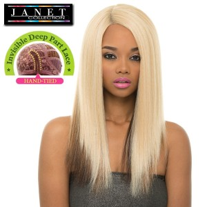 Janet Collection Synthetic Lace Front Wig Super Flow Deep Part_May