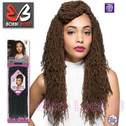 Bobbi Boss Synthetic Crochet Braids_Micro Locs 18""