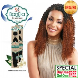 "Bobbi Boss BonEla Brazilian Natural Virgin Hair Weave_Pure Bohemian(10""~18"")"