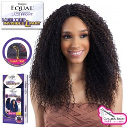 Freetress Equal Lace Deep Invisible L Part Synthetic Lace Front Wig_Straw Curl Braids
