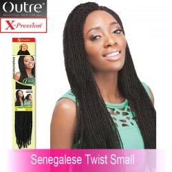 Outre X-Pression Crochet Braid_Senegalese Twist Small 24""