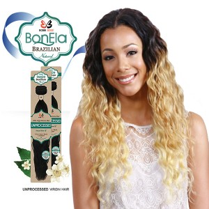 <Deal of the month>Bobbi Boss BonEla Brazilian Natural Virgin Hair Weave_Breezy Wave