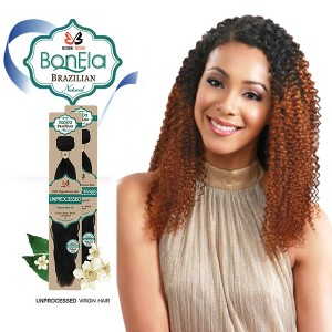 <Deal of the month>Bobbi Boss BonEla Brazilian Natural Virgin Hair Weave_Pure Bohemian