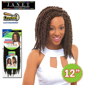 Janet Collection Synthetic Braid_Havana Medium Mambo Twist 12""