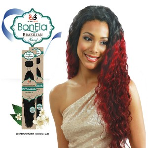 <Deal of the month>Bobbi Boss BonEla Brazilian Natural Virgin Hair Weave_Aussie Wave