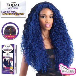Freetress Equal Lace Deep Invisible L Part Synthetic Lace Front Wig_Flexi Curl Braids