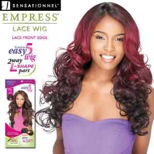Sensationnel Empress Edge Synthetic Lace Front Wig_Easy 5 OCEAN